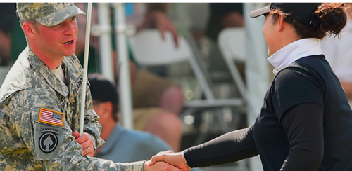 LPGA Volvik - veterans support