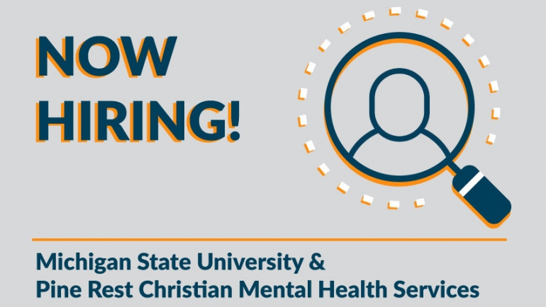 Career Opportunity: Research Director, Pine Rest Christian Mental Health Services & Michigan State University